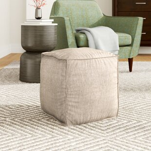 Pouf Ottoman by Mercury Row