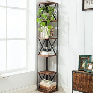 Gurley Corner Unit Bookcase Williston Forge