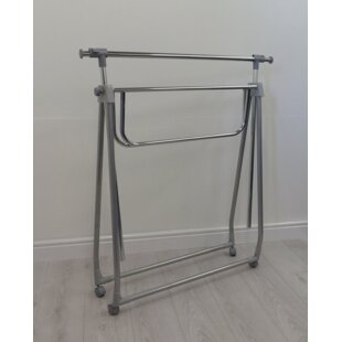 Collapsible 175cm Wide Clothes Rack By Symple Stuff