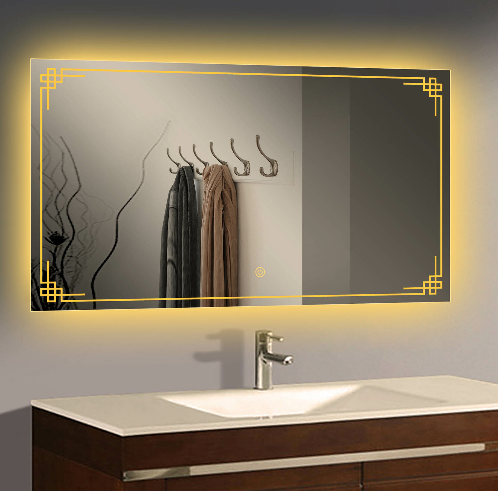 Orren Ellis Alladin Bathroom Vanity Mirror Wayfair