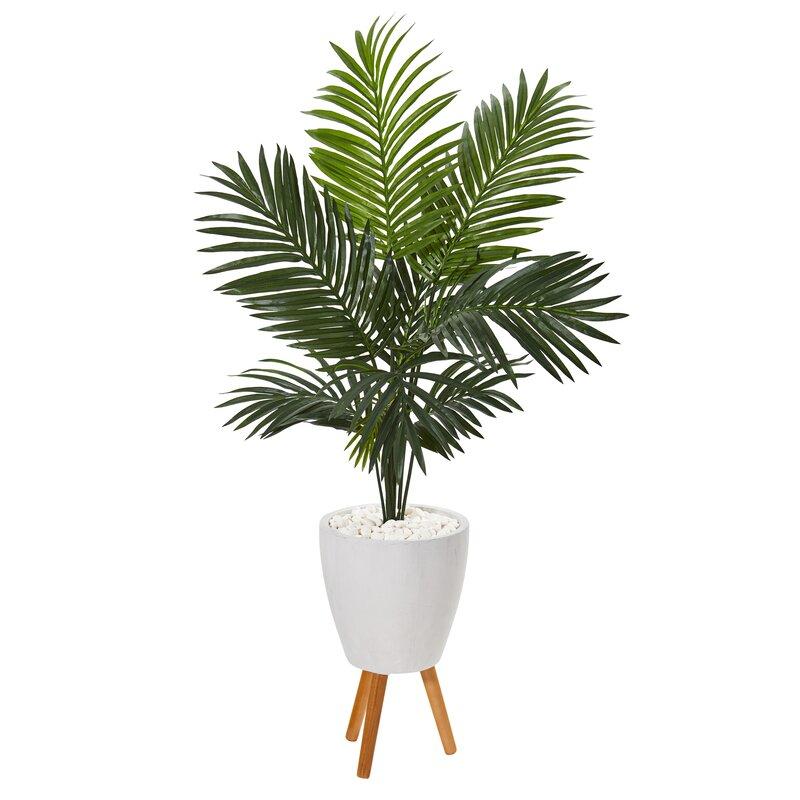 Artificial Palm Tree In Planter Reviews Joss Main