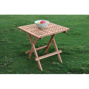 Nasim Folding Teak Bistro Table Image