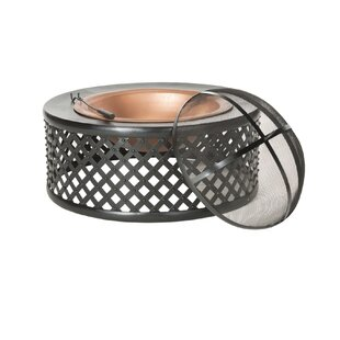 Jamaica Cast Iron Wood Burning Fire Pit By Safavieh