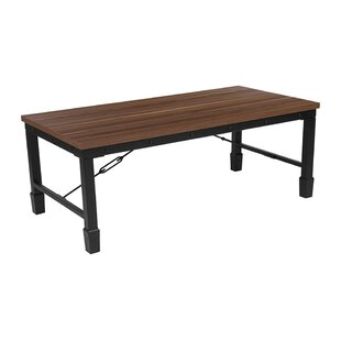 Williston Forge Griffithville Rustic Coffee Table