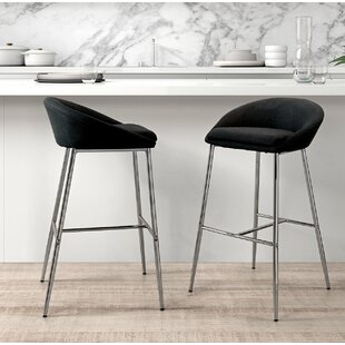 Halina Bar Stool (Set of 2) Brayden Studio