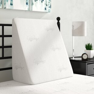 Alwyn Home Visco Elastic Luxury Bed Wedge Memory Foam Pillow