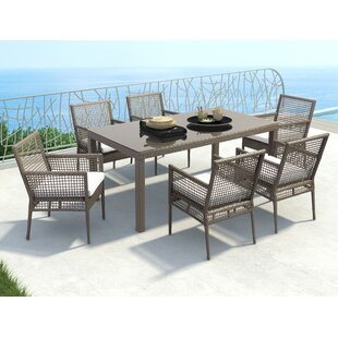 Baca 7 Piece Dining Set Brayden Studio