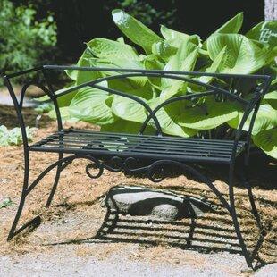 Arbour Wrought Iron Garden Bench