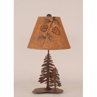 Best Reviews Rustic Living 21.5 Table Lamp By Coast Lamp Mfg.