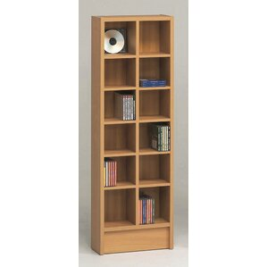 Double CD Multimedia 12-Shelf Storage ..