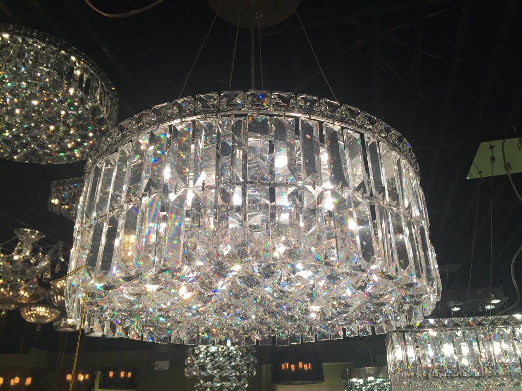 Willa Arlo Interiors Anjali Glam 12-Light Crystal Chandelier ...