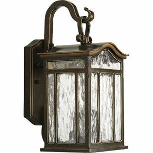 Alcott Hill Triplehorn 2-Light European Wall Lantern