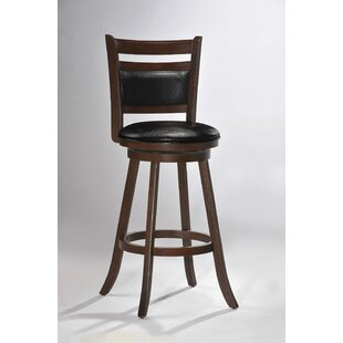 Souza 29 Swivel Bar Stool Loon Peak