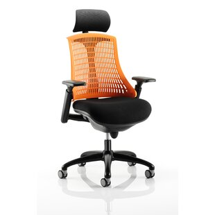 Brighton High-Back Desk Chair By Symple Stuff