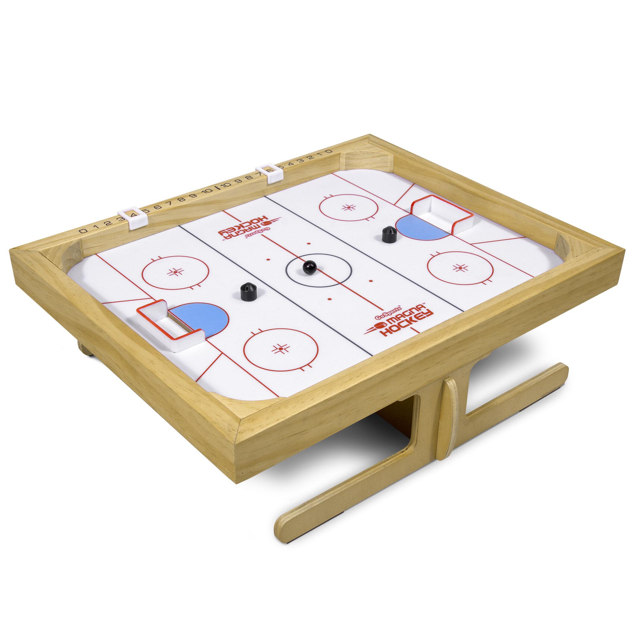 Wooden Mini Tabletop Desktop Board Football Hockey Soccer Game Fun Kids Gift