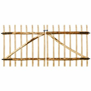 Mount Crested Butte 10' X 5' (3m X 1.5m) Wood Gate By Union Rustic