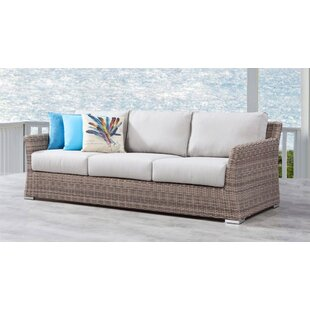 Searle Olefin Patio Sofa With Cushions by Ivy Bronx Herry Up