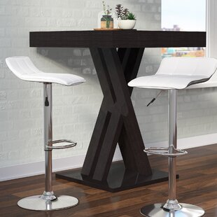 Nuno Adjustable Height Swivel Bar Stool (Set of 2)