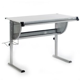 Mads 117 W Art Desk By Symple Stuff