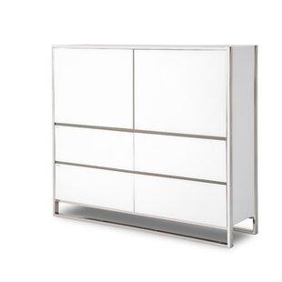 State St. 4 Drawer Combo Dresser