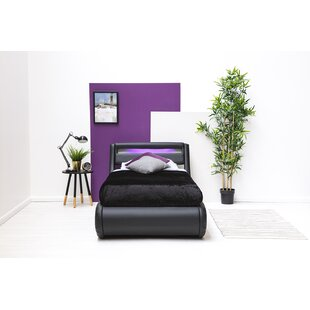 Barcelona Upholstered Bed Frame With Mattress By Ebern Designs