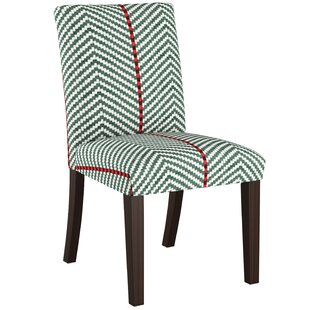 Leitch Upholstered Dining Chair Bungalow Rose