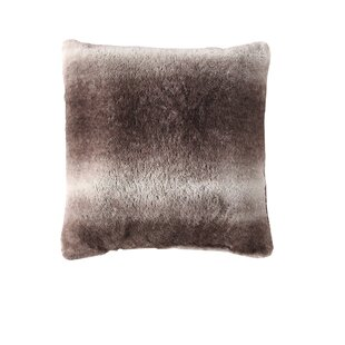 Coomes Faux Fur Throw Pillow (Set of 2)