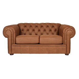 Alexa III Chesterfield Loveseat by REZ Furniture Top Reviews