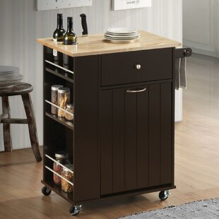 Runner Kitchen Cart Canora Grey