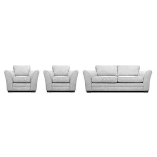 Ventura 3 Piece Sofa Set By Brambly Cottage