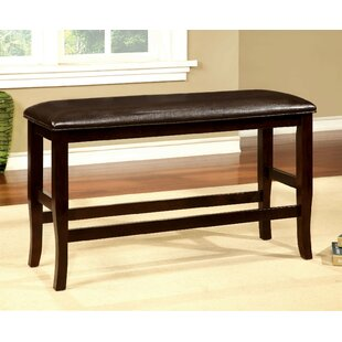 Faron Counter Height Upholstered Bench by Darby Home Co