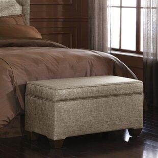 Glitz Upholstered Storage Bench BySkyline Furniture