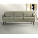 Beezus Genuine Leather 83 Square Arms Sofa by Latitude Run®