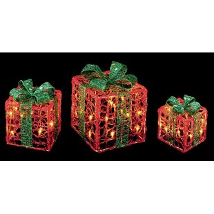76 Red/Green LED Parcels Luminary And Pathway Lights By The Seasonal Aisle