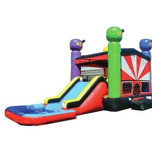 JumpOrange Ninja Bounce House