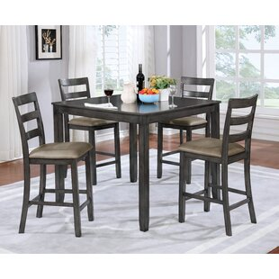 Dawkins 5 Piece Dining Set by Loon Peak