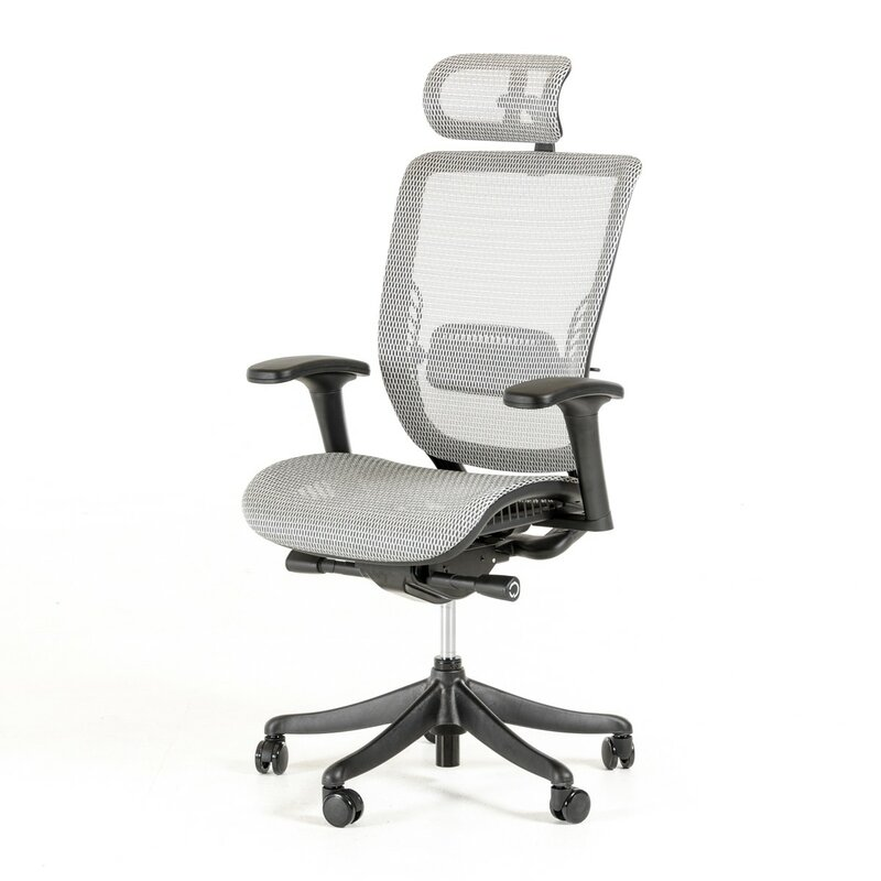 wade logan belafonte mesh desk chair & reviews | wayfair