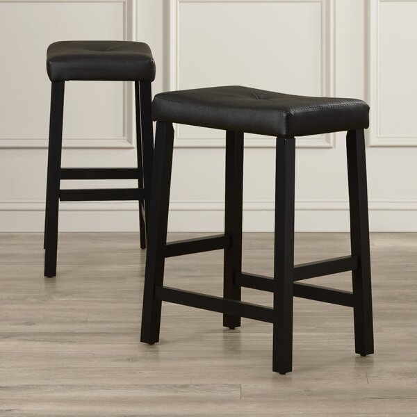 370c37a2327 Genuine Leather Bar Stool