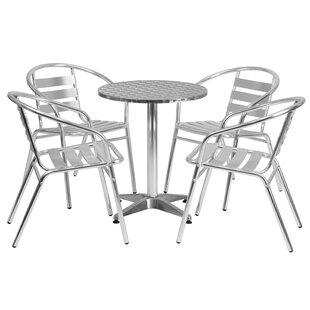 Yuba City 5-Piece Dining Set by Trent Aus..