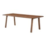 Charlise Dining Table Walnut by Foundry Select