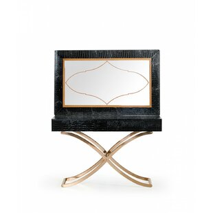 Janine Console Table and Mirror Set