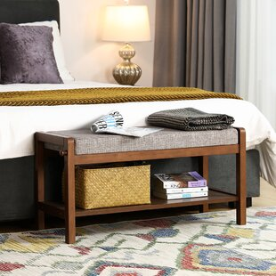 Binion Upholstered Storage Bench