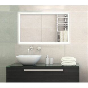 Modern  Contemporary Lighted Bathroom  Vanity Mirror