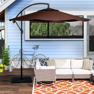Karr 10' Market Umbrella by Alcott Hill Savings