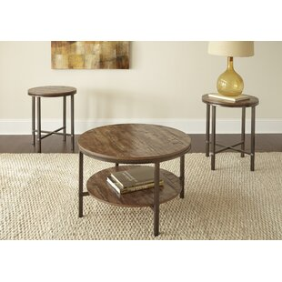 Read Reviews Absher 3 Pieces Coffee Table Set By Mercury Row