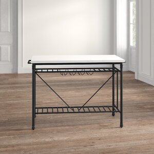 Kitchen Island With Marble Top For Sale