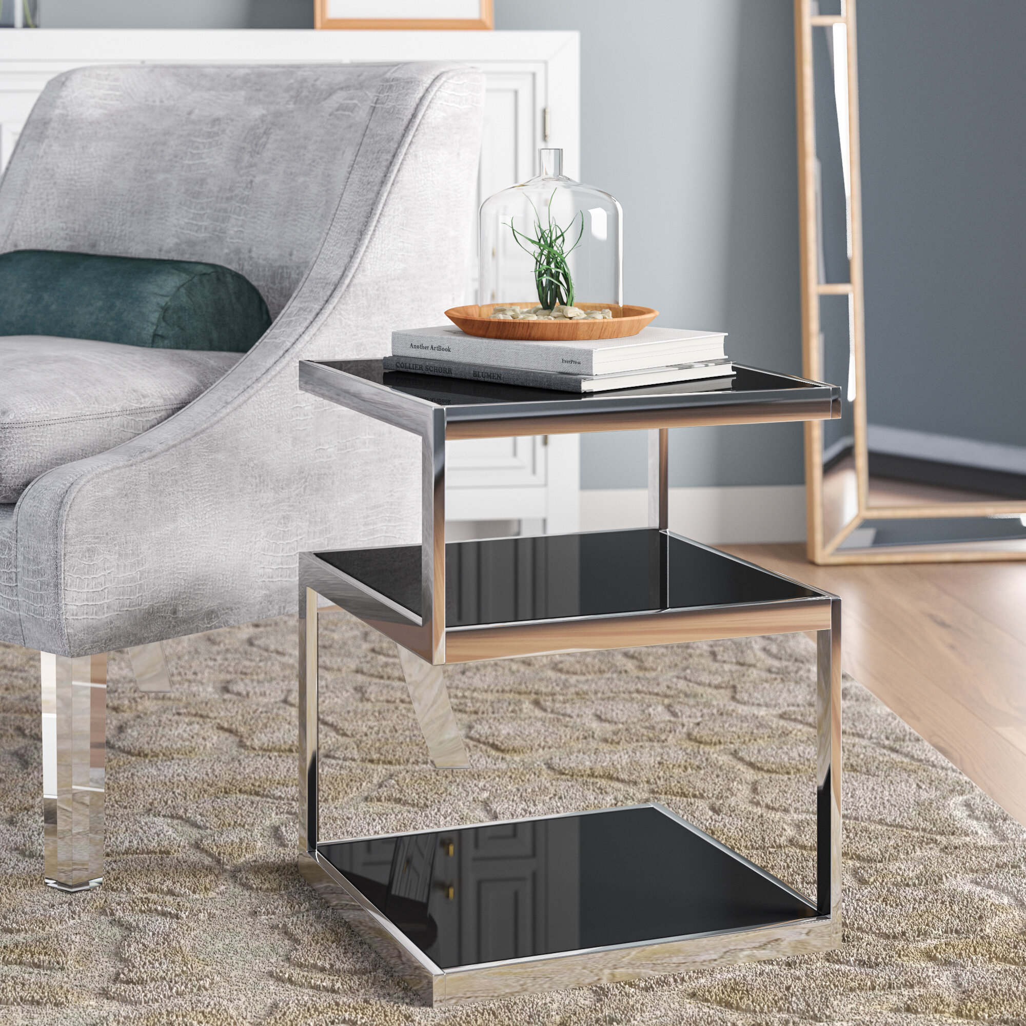 Magnificent Glass End Tables Youll Love In 2019 Wayfair Download Free Architecture Designs Xaembritishbridgeorg