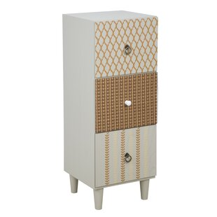Malloy 3 Drawer Chest By Bloomsbury Market