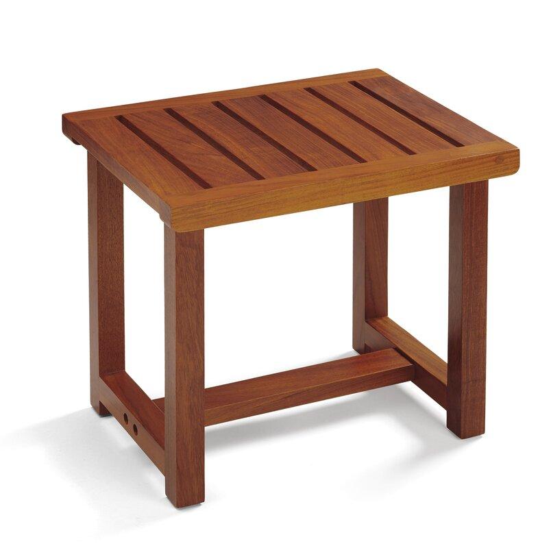 Conair Wooden Spa Shower Seat & Reviews | Wayfair