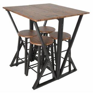 Maloney 5 Piece Pub Table Set Williston Forge